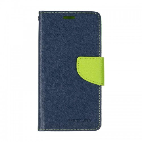 Book Cover Goospery Samsung J500 (J5) Blue